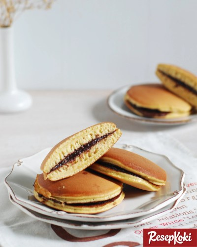 Gambar Hasil Membuat Resep Dorayaki Isi Coklat