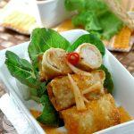 Resep Siomay Goreng Saus Apel