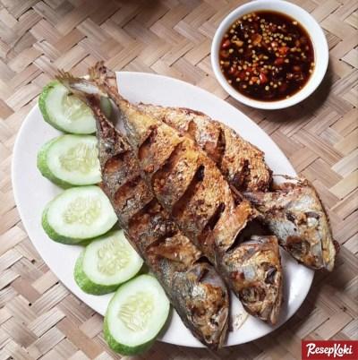 Gambar Hasil Membuat Resep Ikan Kembung Goreng Bumbu Kuning