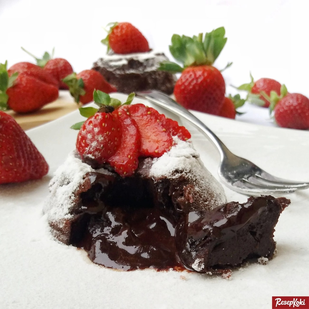 Resep Chocolate Lava Cake