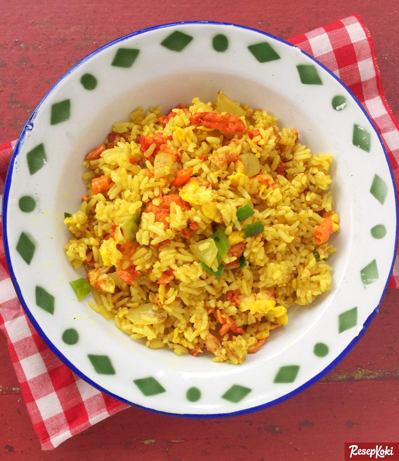 Nasi Goreng Kuning Nikmat Dan Sederhana Resep Resepkoki