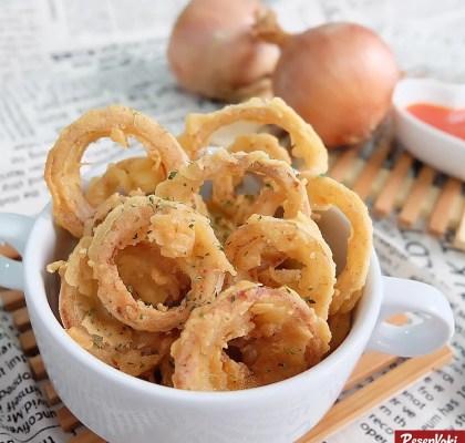 onion rings gurih