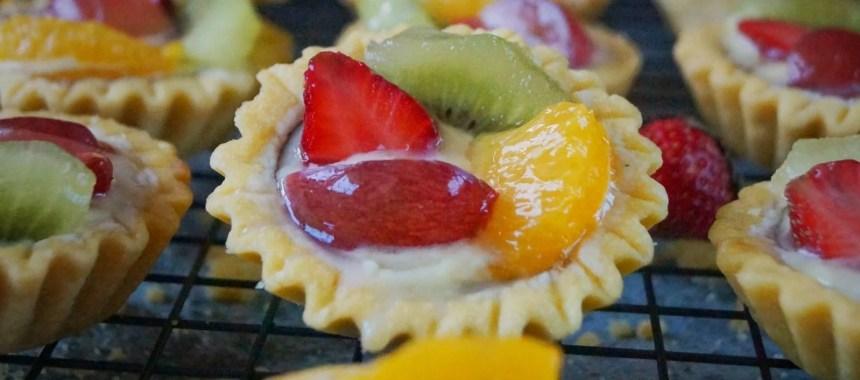 Resep Kue Pie Jepang: Pie Buah Mini (Fruit Tartlet) Renyah Dan Praktis
