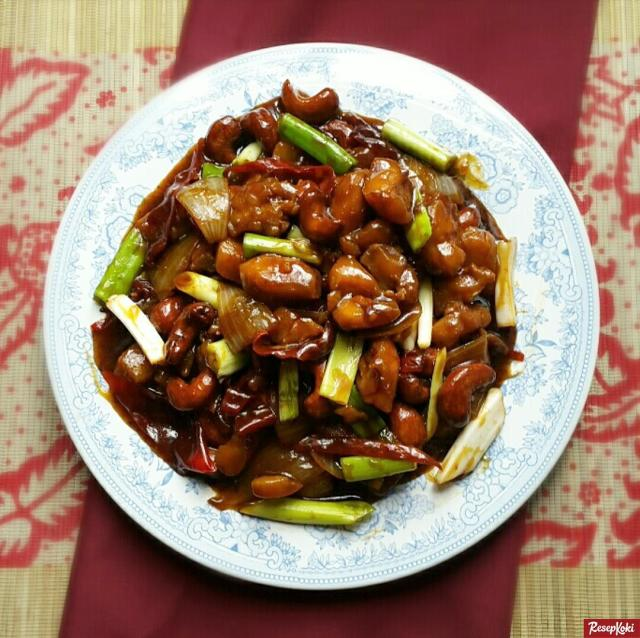 Gambar Hasil Membuat Resep Ayam Kungpao