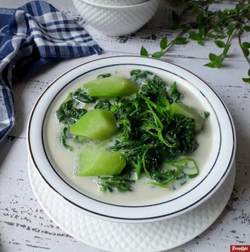 Gambar Hasil Membuat Resep Sayur Bobor Bayam