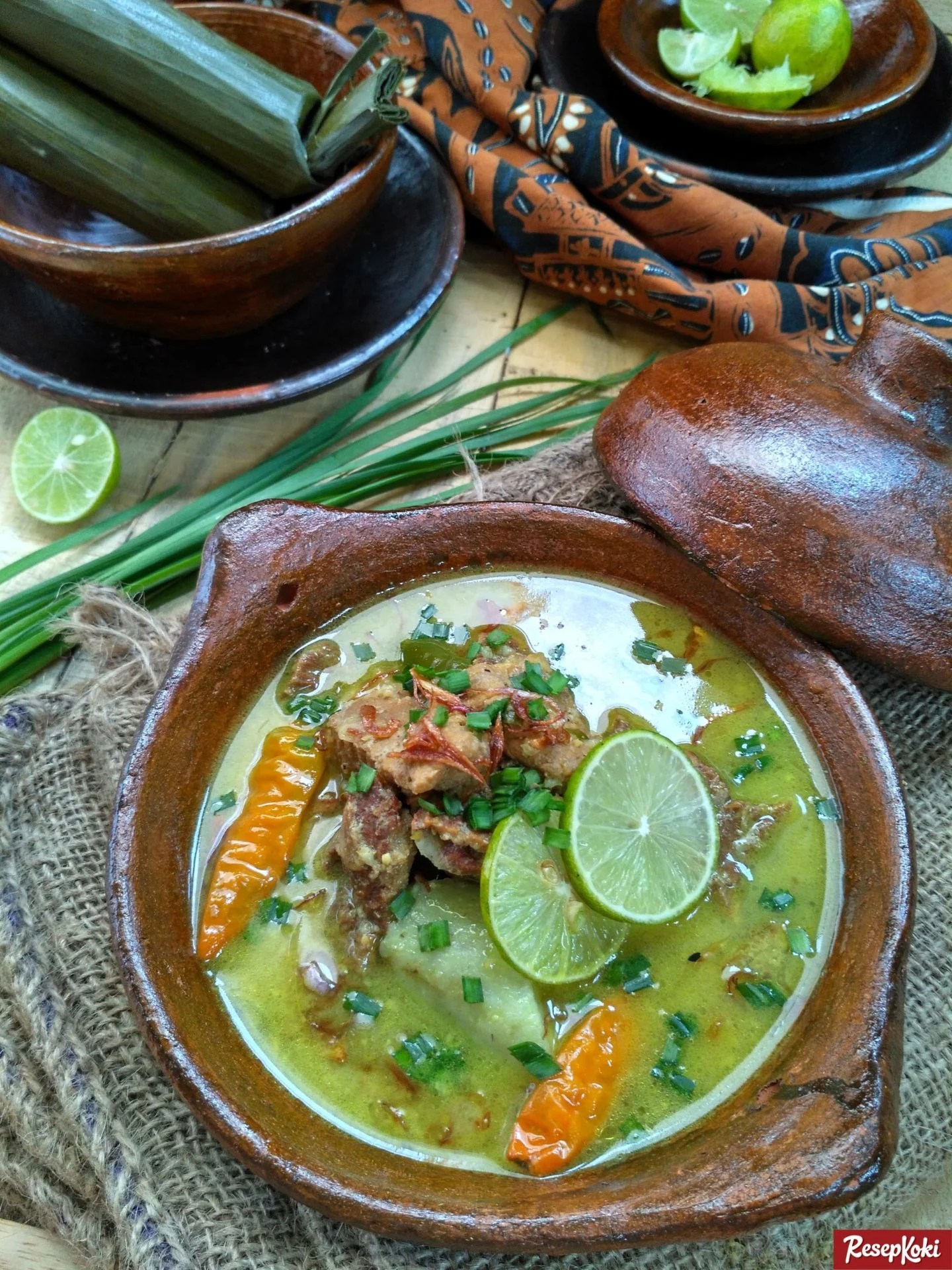 Resep Empal Gentong Cirebon : resep, empal, gentong, cirebon, Empal, Gentong, Komplit, Istimewa, Cirebon, Resep, ResepKoki
