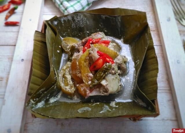 Gambar Hasil Membuat Resep Garang Asem Ayam