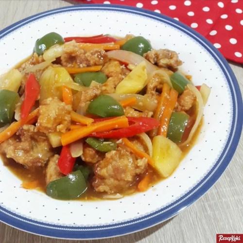 Gambar Hasil Membuat Resep Koloke Ayam