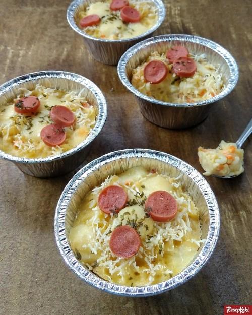 Gambar Hasil Membuat Resep Macaroni Schotel