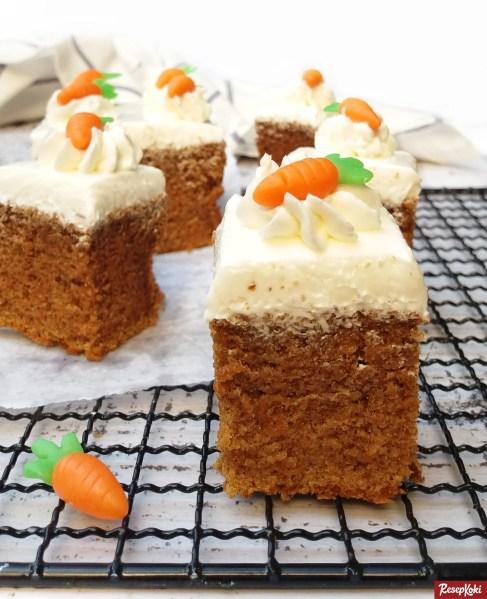 Gambar Hasil Membuat Resep Carrot Cake