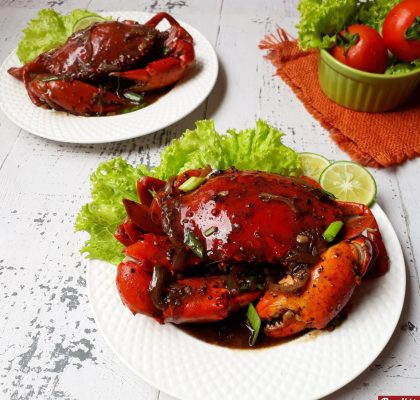 Kepiting lada hitam istimewa