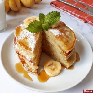 Pancake pisang fluffy
