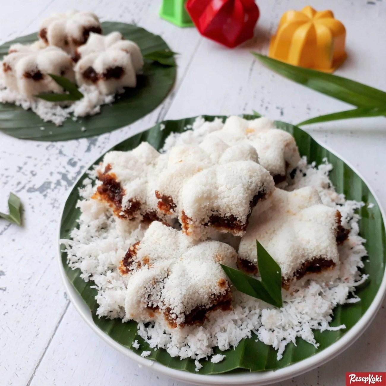 Kue Putu bambu tanpa cetakan