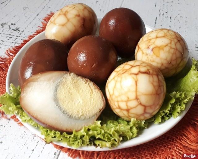 Gambar Hasil Membuat Resep Telur Pindang