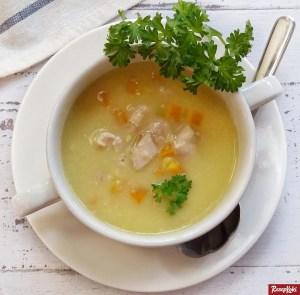 cream soup ayam gurih