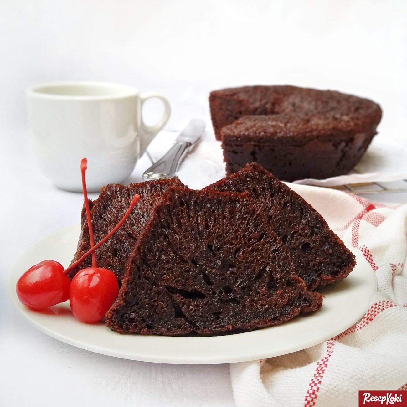 Resep Kue Bolu Sarang Semut (Caramel Cake)