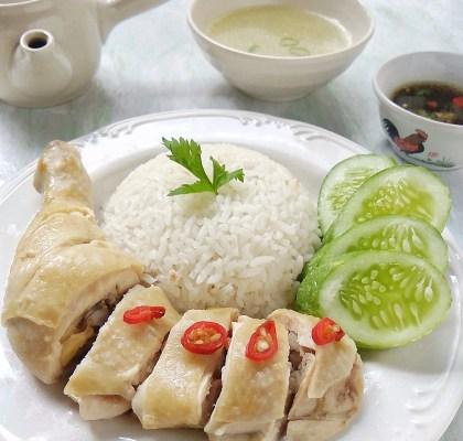 Ayam hainan special