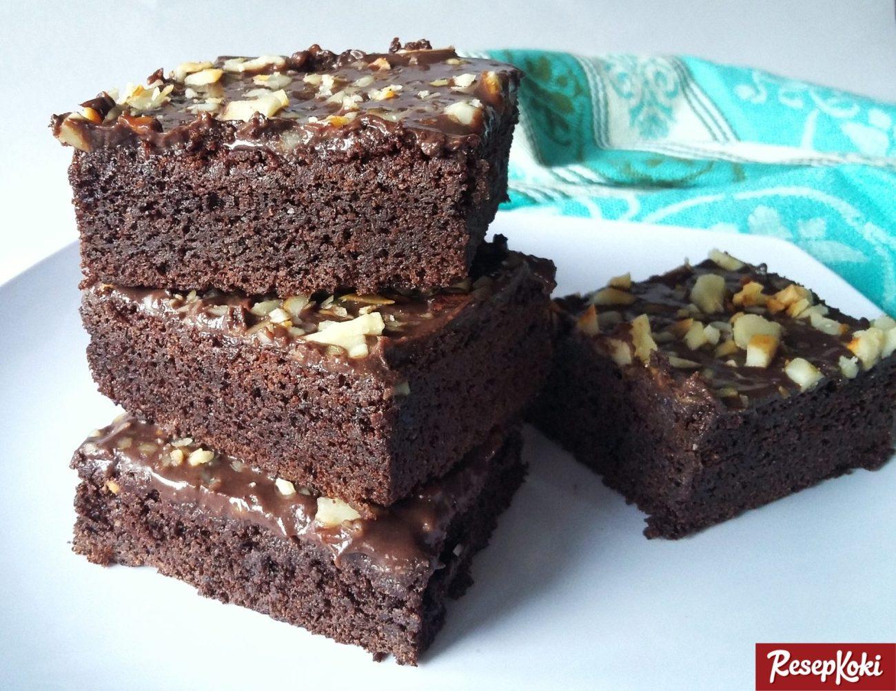 Resep Brownies Panggang Klasik
