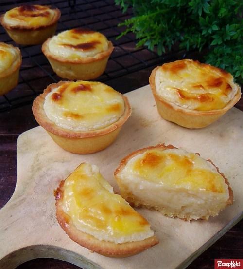 Gambar Hasil Membuat Resep Cheese Tart