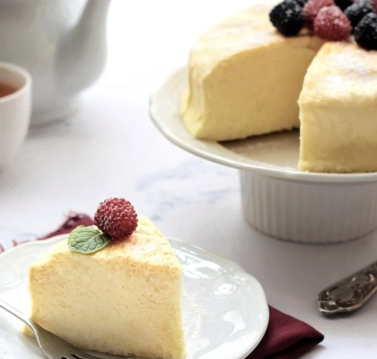 Japanese cheese cake lembut