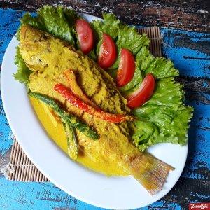 Ikan kakap bumbu kuning praktis