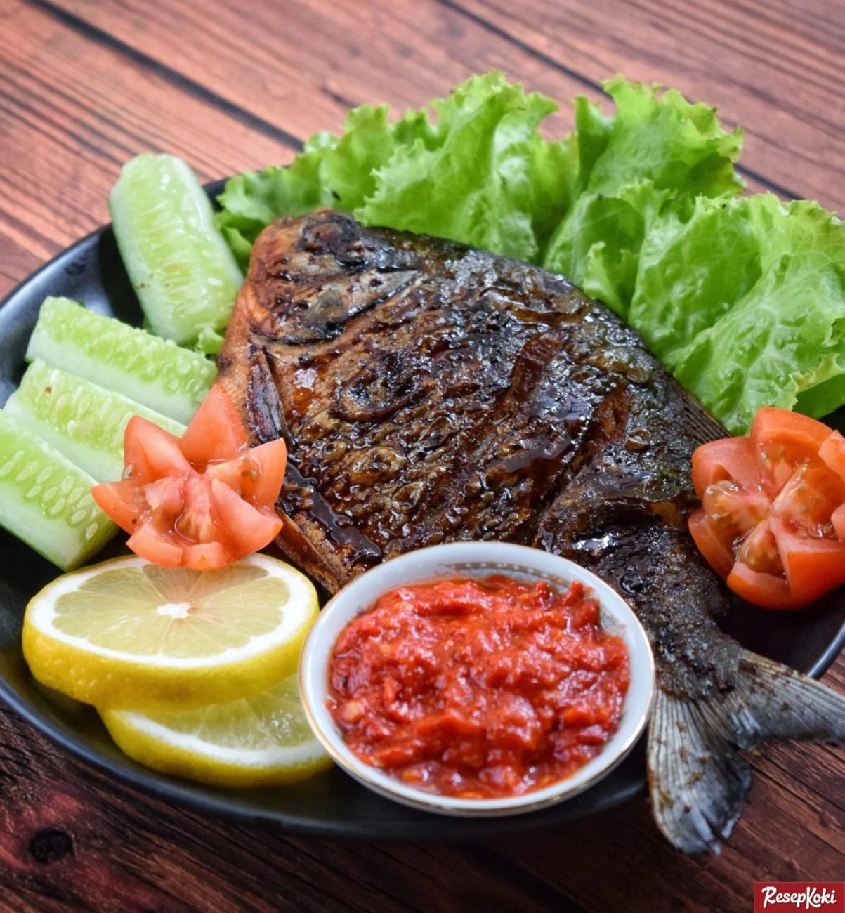 Resep Ikan Bawal Bakar