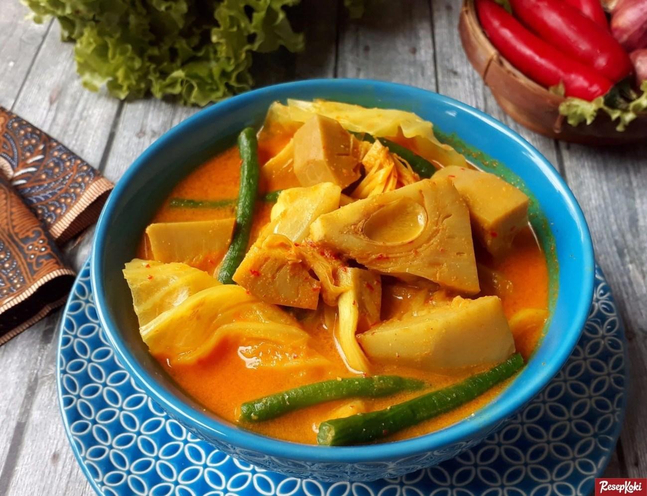 Resep Sayur Nangka Kapau