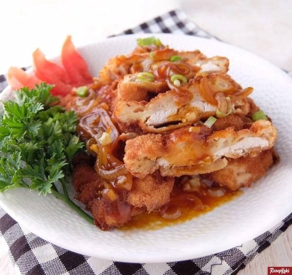 Gambar Hasil Membuat Resep Ayam Nanking