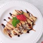Resep Crepes Pisang Coklat Keju