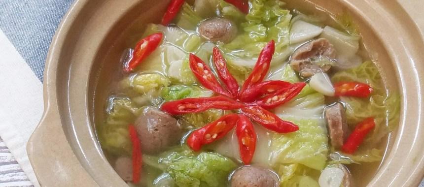 Resep Sayur Bening Sawi