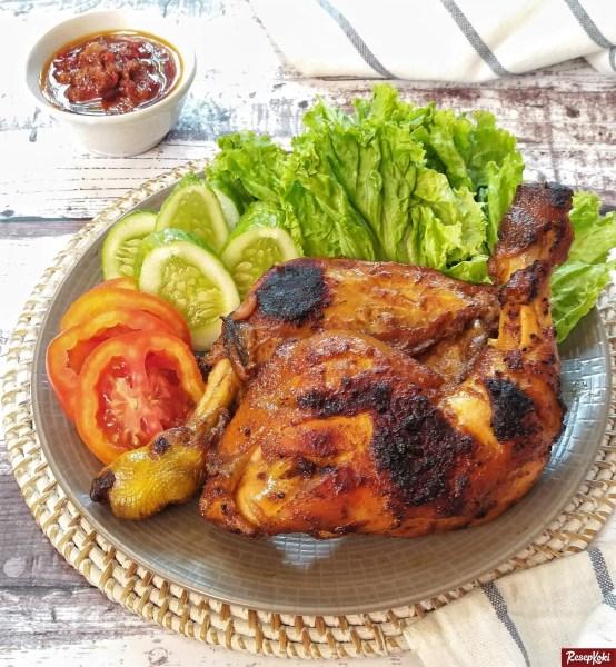 ayam bakar bumbu bali pedas