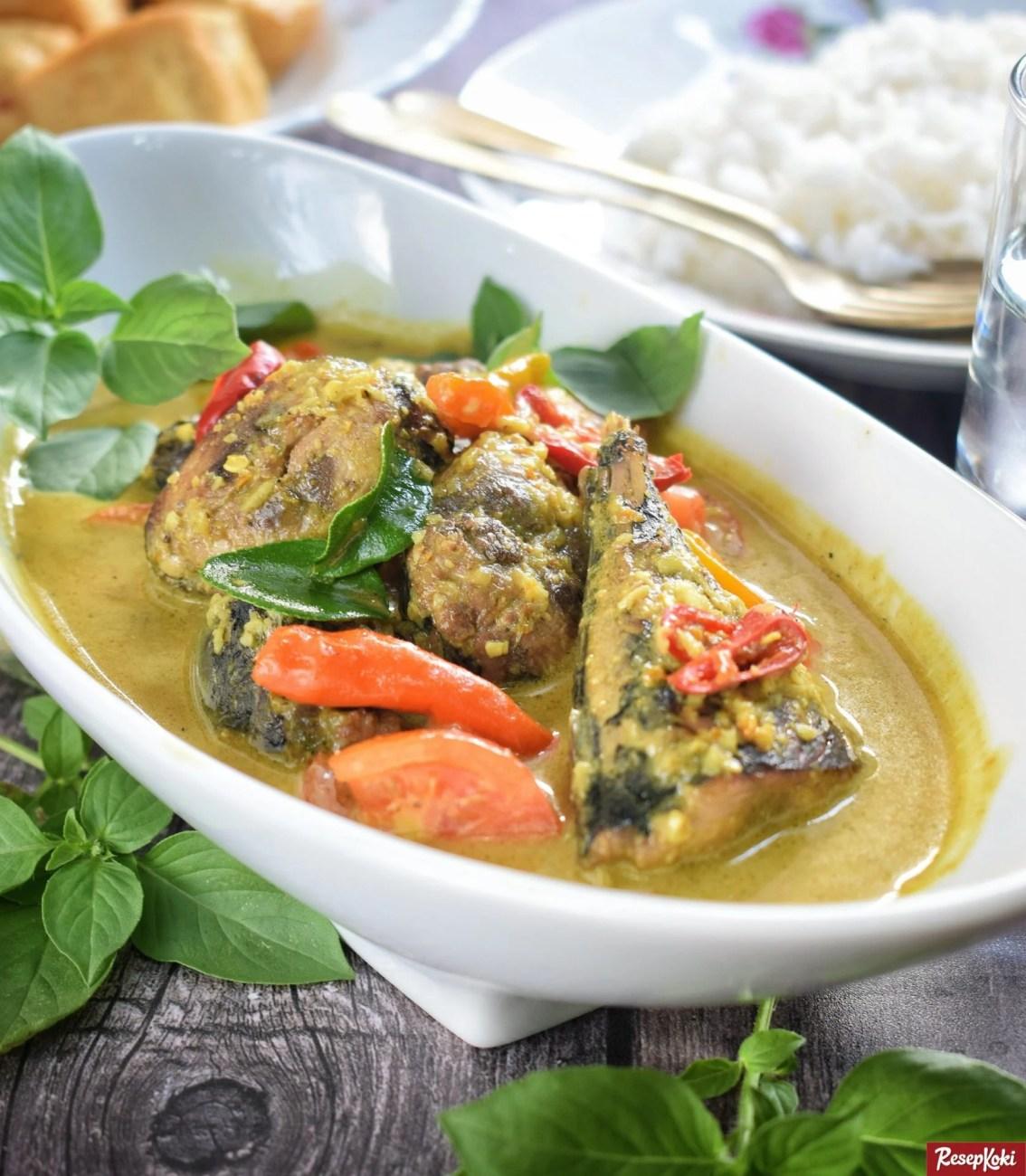 Ikan Tongkol Bumbu Kuning Lezat Praktis Istimewa Resep Resepkoki