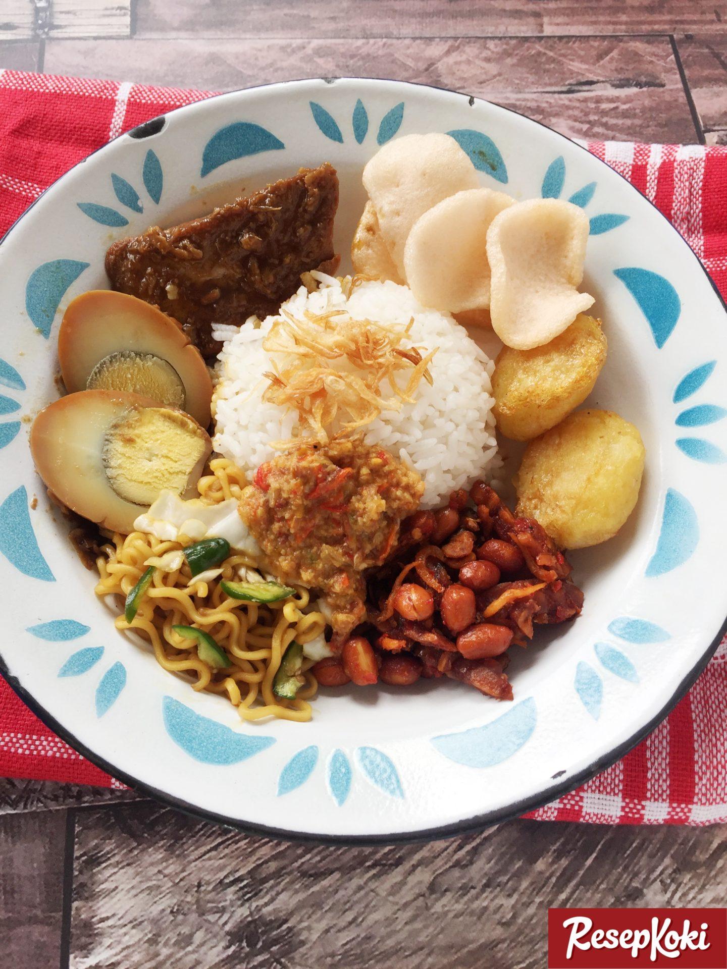 Nasi Uduk Komplit Khas Betawi Jakarta Resep Resepkoki