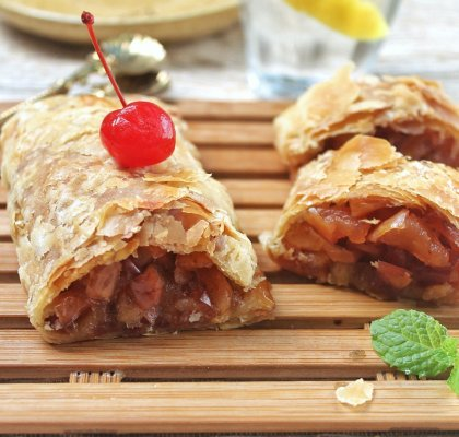 apple strudel renyah