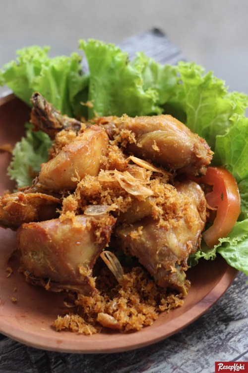 Gambar Hasil Membuat Resep Ayam Serundeng