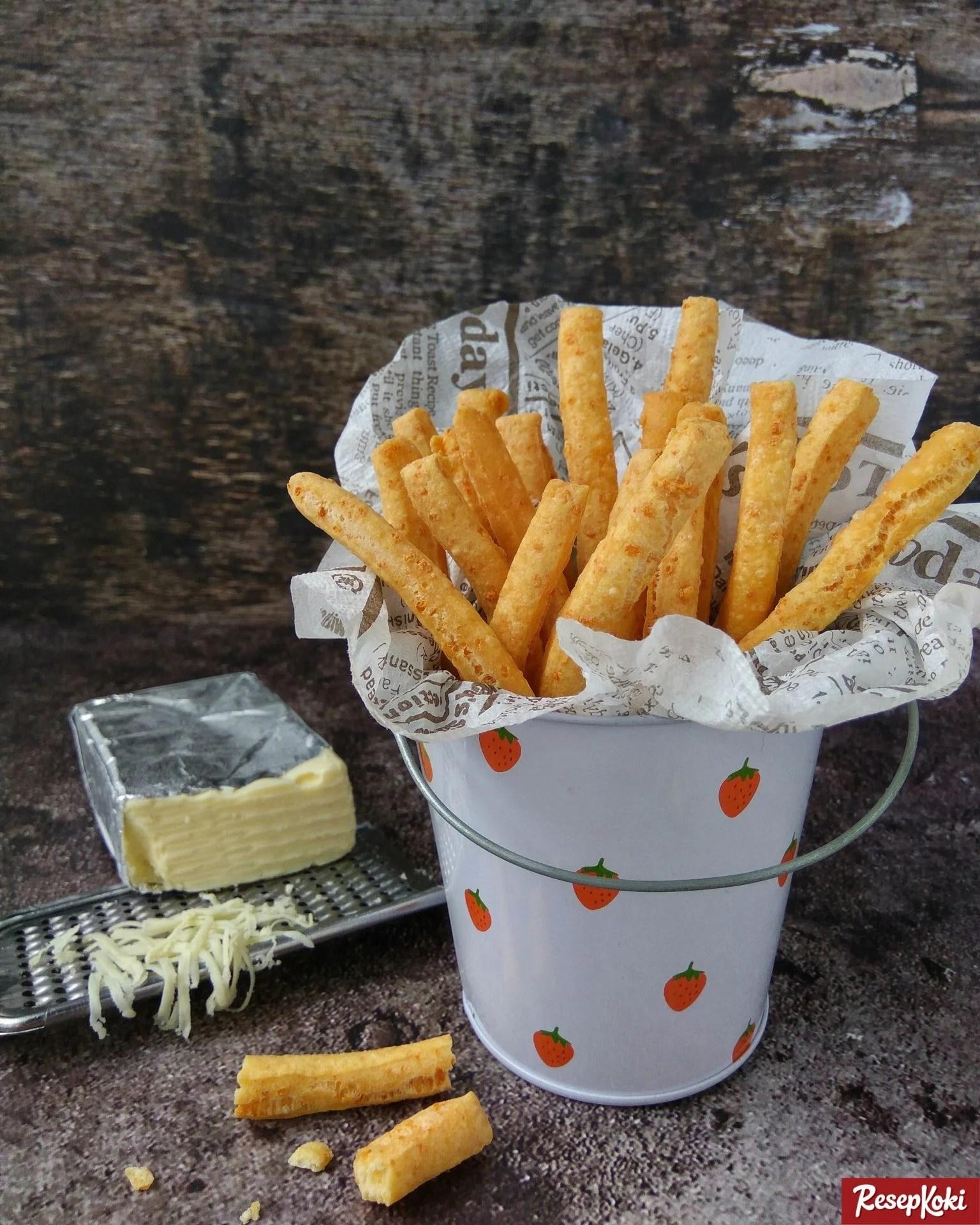 Resep Cheese Stick Stik Keju