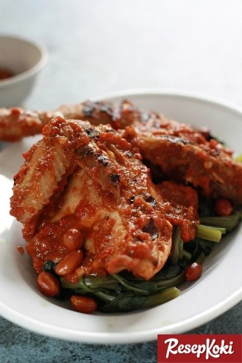 Gambar Hasil Membuat Resep Ayam Taliwang