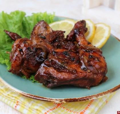 ayam panggang lada hitam praktis