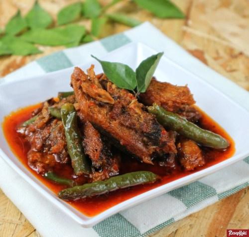 Gambar Hasil Membuat Resep Gulai Aceh Ikan Tongkol