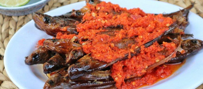 Resep Ikan Salai Asap Balado