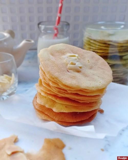 Gambar Hasil Membuat Resep Almond Crispy