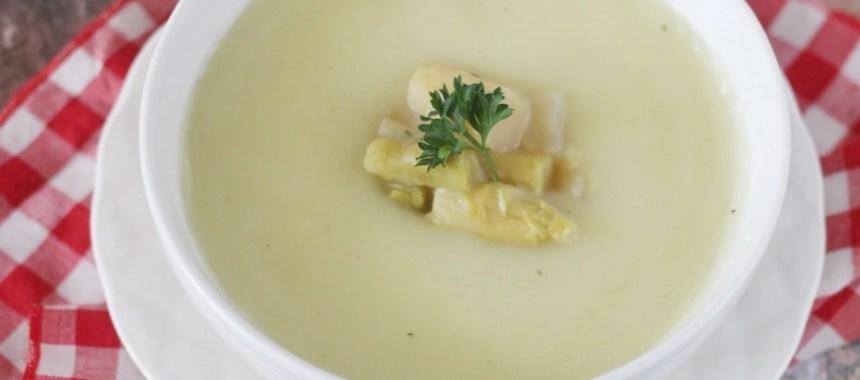 Resep Sup Asparagus Krim Ayam