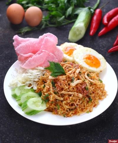 Gambar Hasil Membuat Resep Nasi Goreng Padang