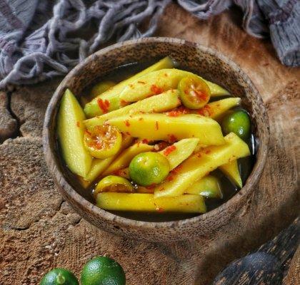 asinan buah segar