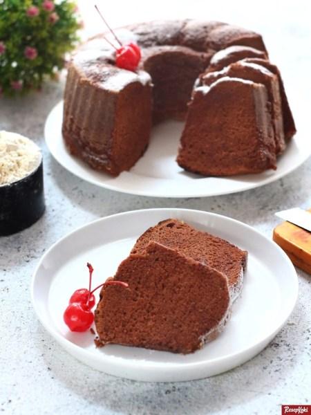 Gambar Hasil Membuat Resep Bolu Panggang Coklat