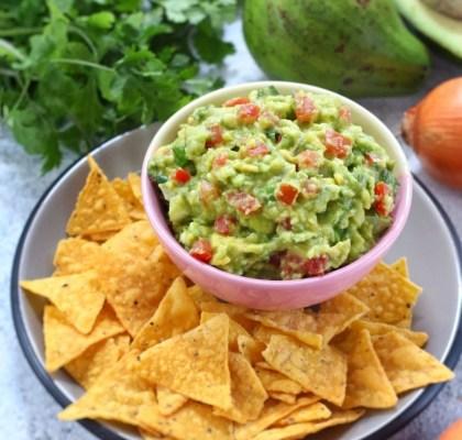 guacamole alpukat enak