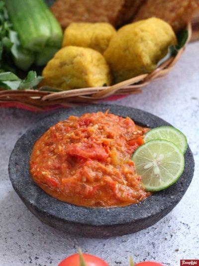Gambar Hasil Membuat Resep Sambal Tomat