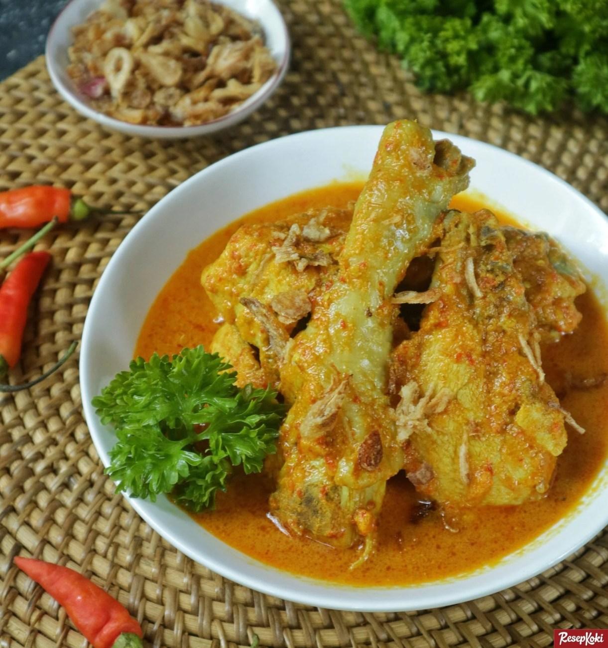 Resep Ayam Kare Jawa