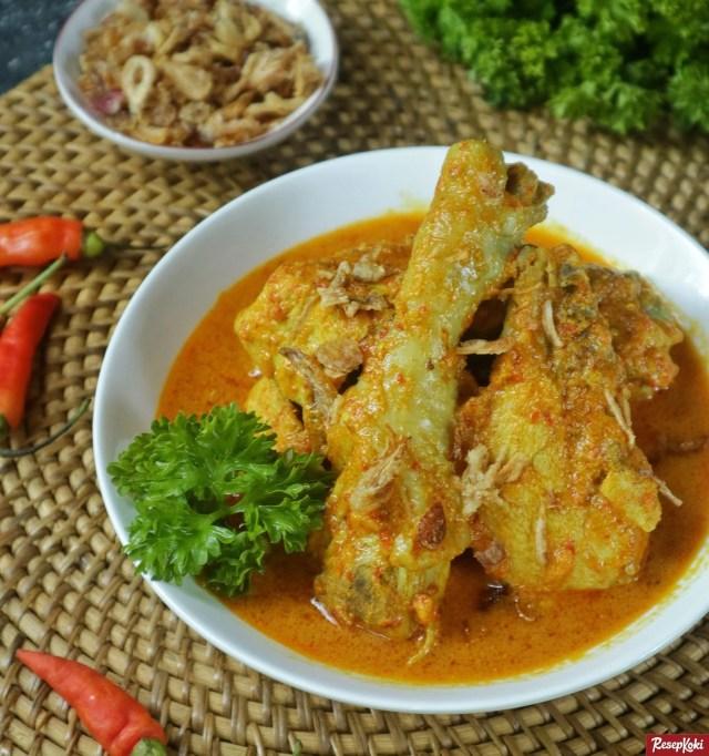 Gambar Hasil Membuat Resep Ayam Kare Jawa