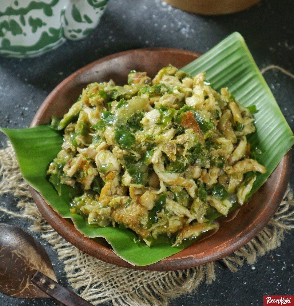 Resep Ayam Suwir Cabe Ijo